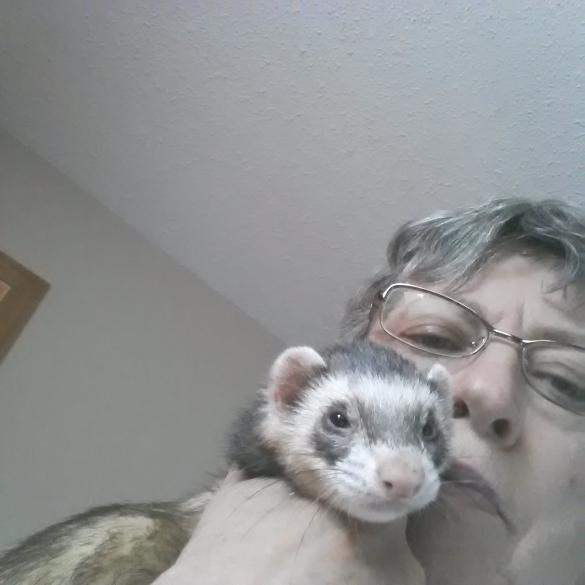 Molly loves his Mom